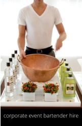 corporate event bartender hire
