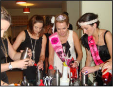 hen party cocktail classes Mullingar